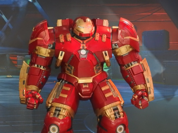 Iron Man character from Marvel: Contest of Champions at ChinaJoy in 2015.