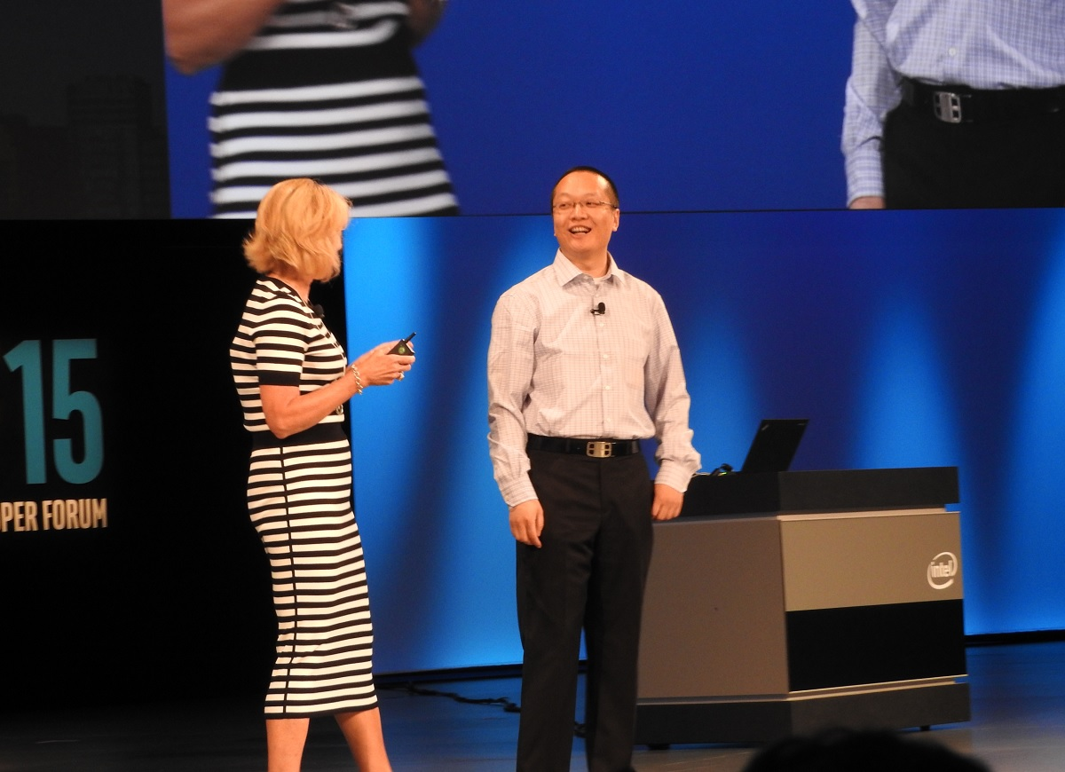 Intel's Diane Bryant and DataRobot's Owen Zhang