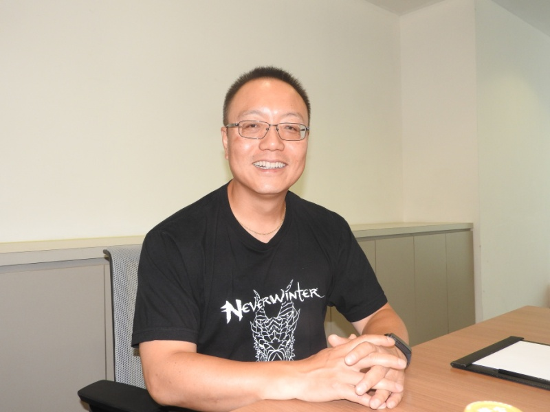 Robert Xiao, CEO of Perfect World