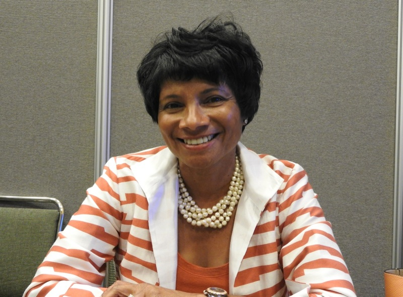 Roz Hudnell, chief diversity officer at Intel, has been at the company 19 years.