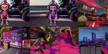 Splatoon transforms into a battle of Autobots vs. Decepticons