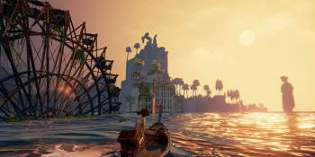 Submerged lets you explore a captivating waterlogged city