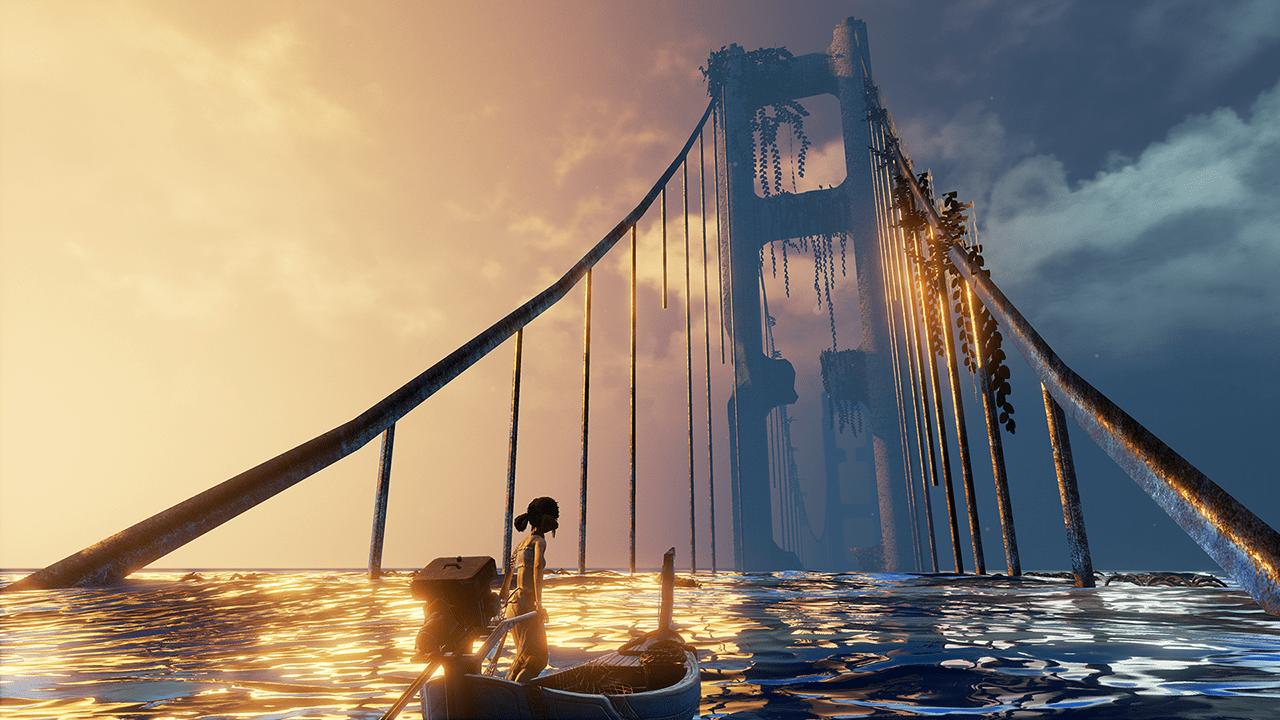 A forgotten bridge.