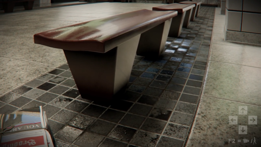 A bench!