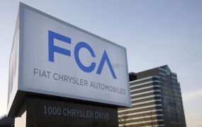 A  Fiat Chrysler Automobiles sign is pictured after being unveiled at Chrysler Group World Headquarters in Auburn Hills, Michigan on May 6, 2014.