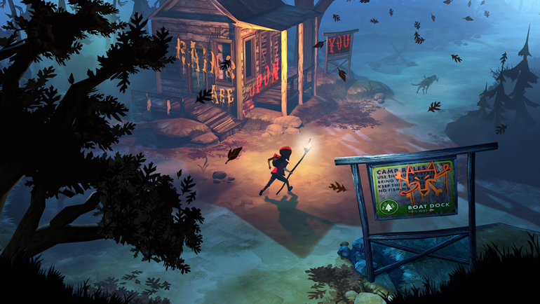 The Flame in the Flood is being made with Unreal Engine 4.