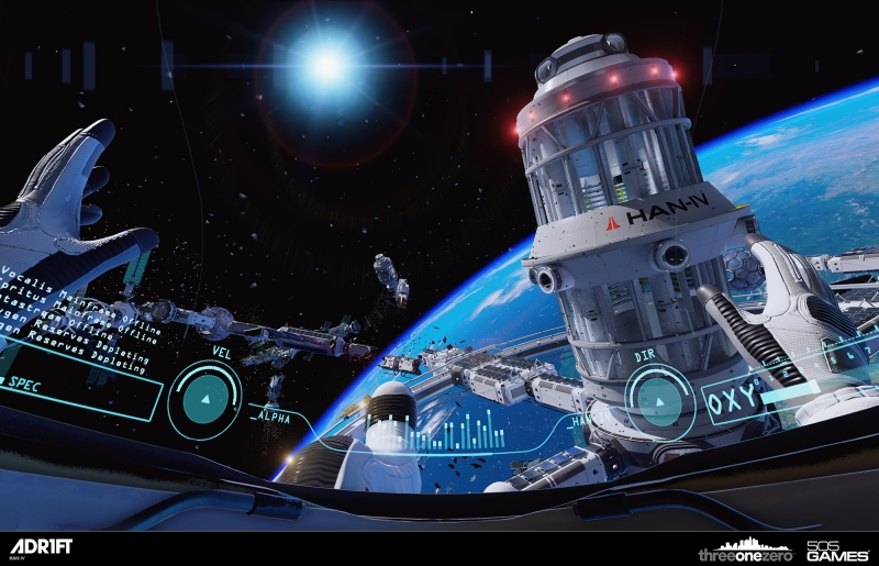Adr1ft is made with Unreal Engine 4.