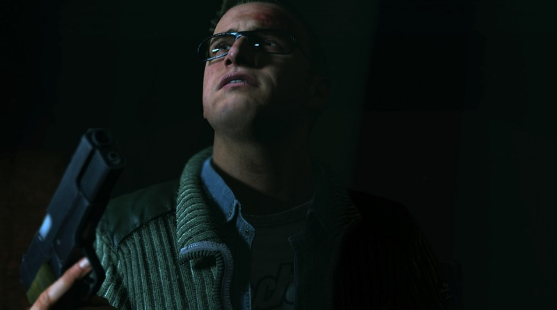 What will Chris do with the gun in Until Dawn?