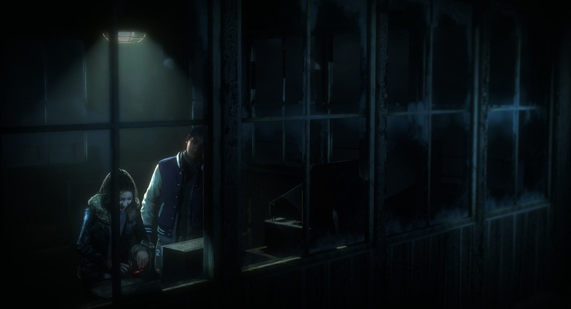 Mike and Emily in Until Dawn.