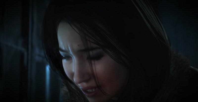 Emily in Until Dawn.
