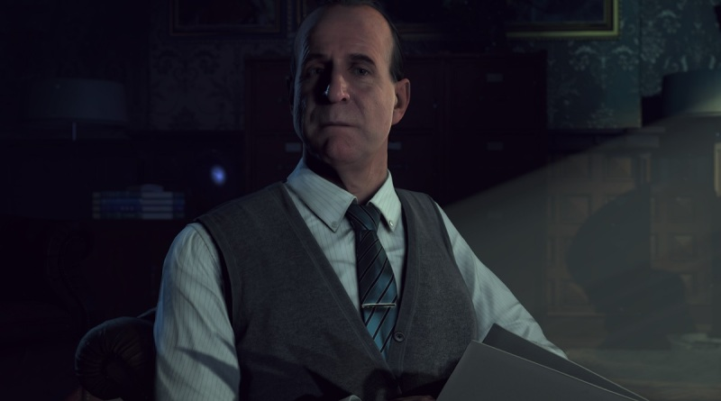 Dr. Hill, the psychoanalyst who appears during intermissions, narrates your progress in Until Dawn.