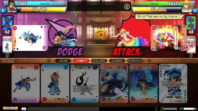Yomi is a fun way to learn a fighting game through cards