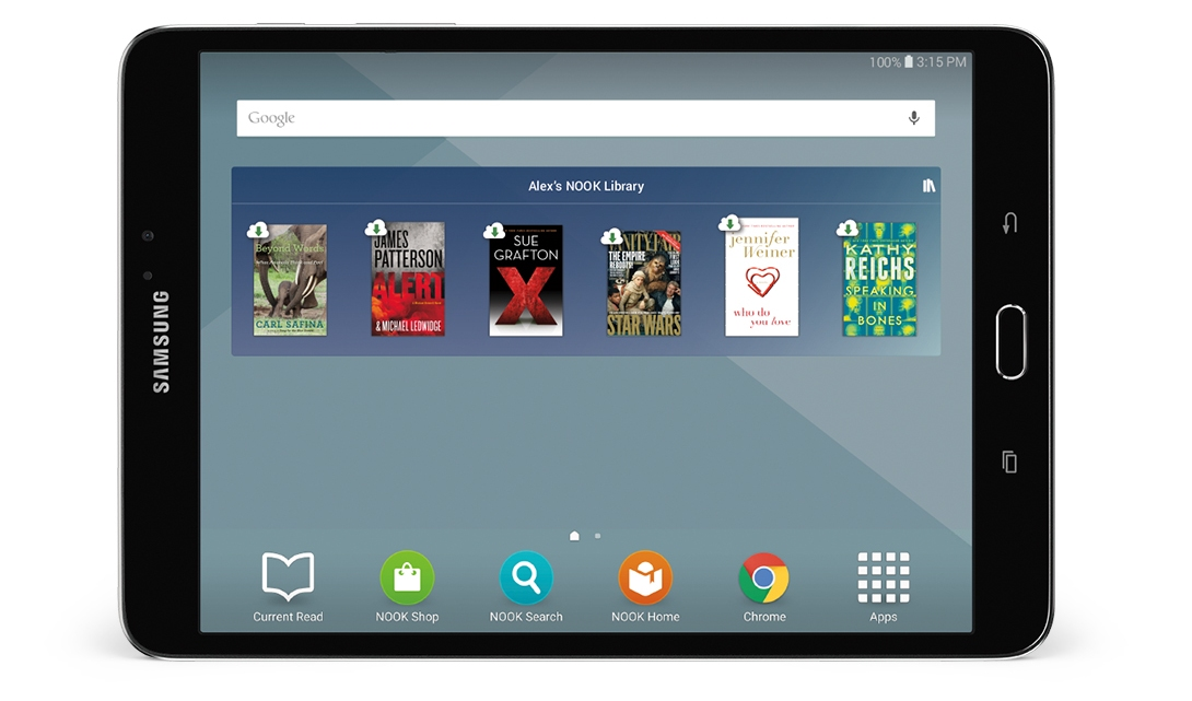 Samsung and Barnes & Noble launch the Galaxy Tab S2 Nook ...