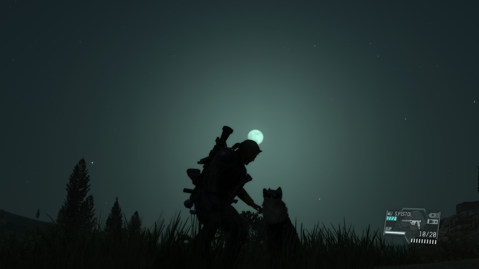 One of the many peaceful moments you can have in The Phantom Pain.