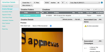 AppNexus is launching its new video ad capability this month