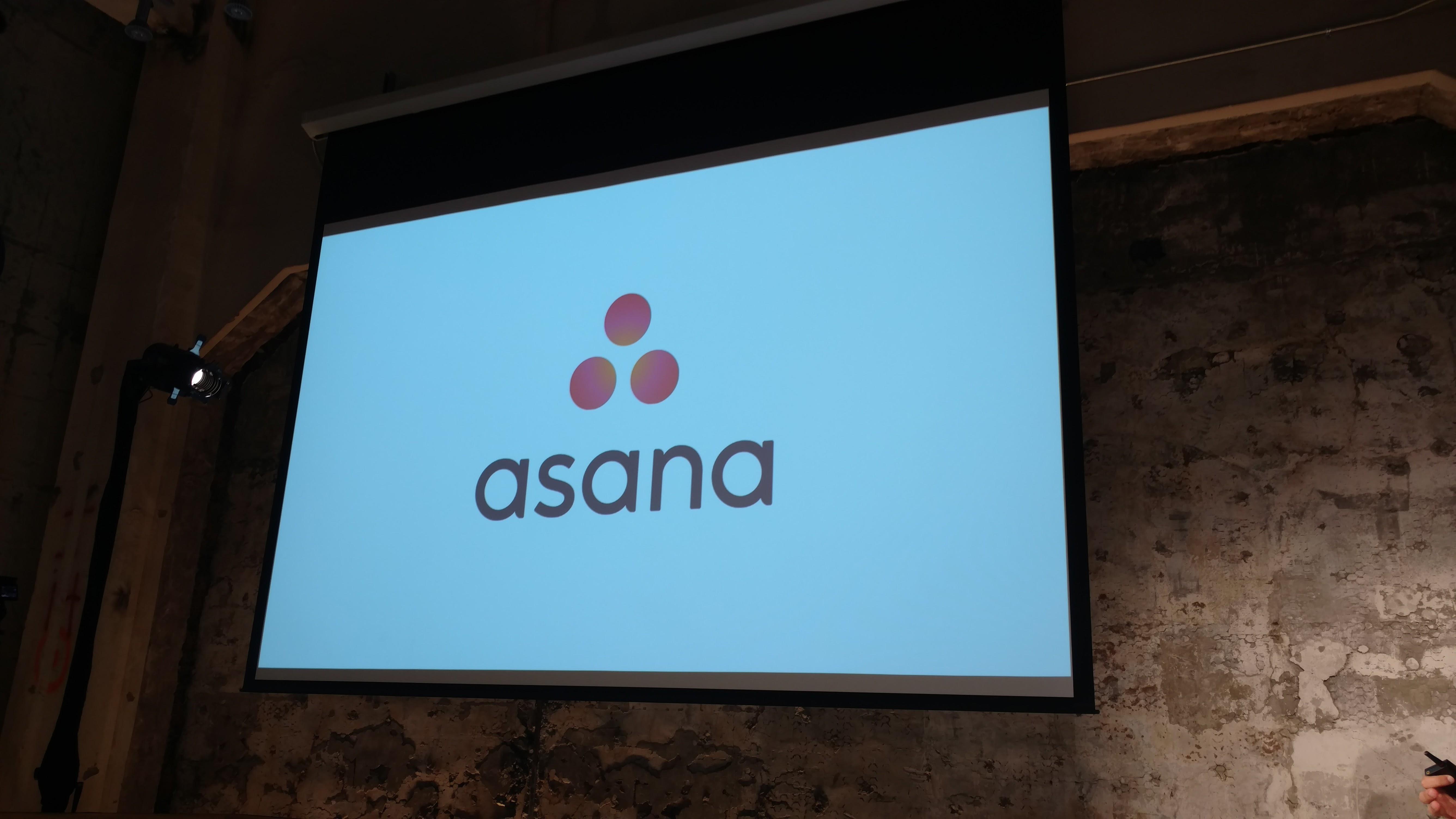 The new Asana logo.