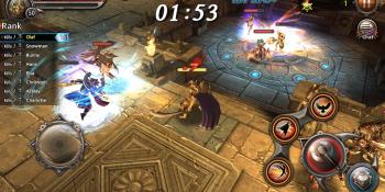 Award-winning South Korean RPG Blade: Sword of Elysion hits iOS in the U.S.