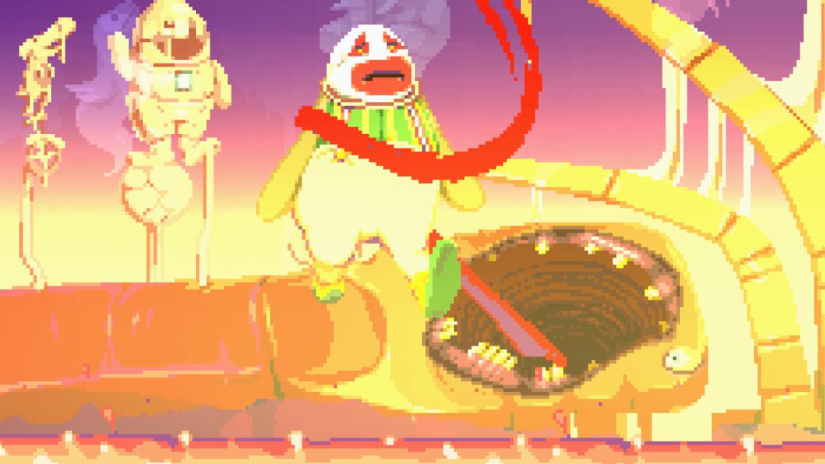 Dropsy's dreams are a descent into terror.