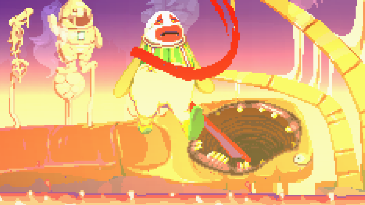 Dropsy's dreams are a descent into terror.