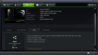 How to stream games from your Nvidia GTX-powered PC to any