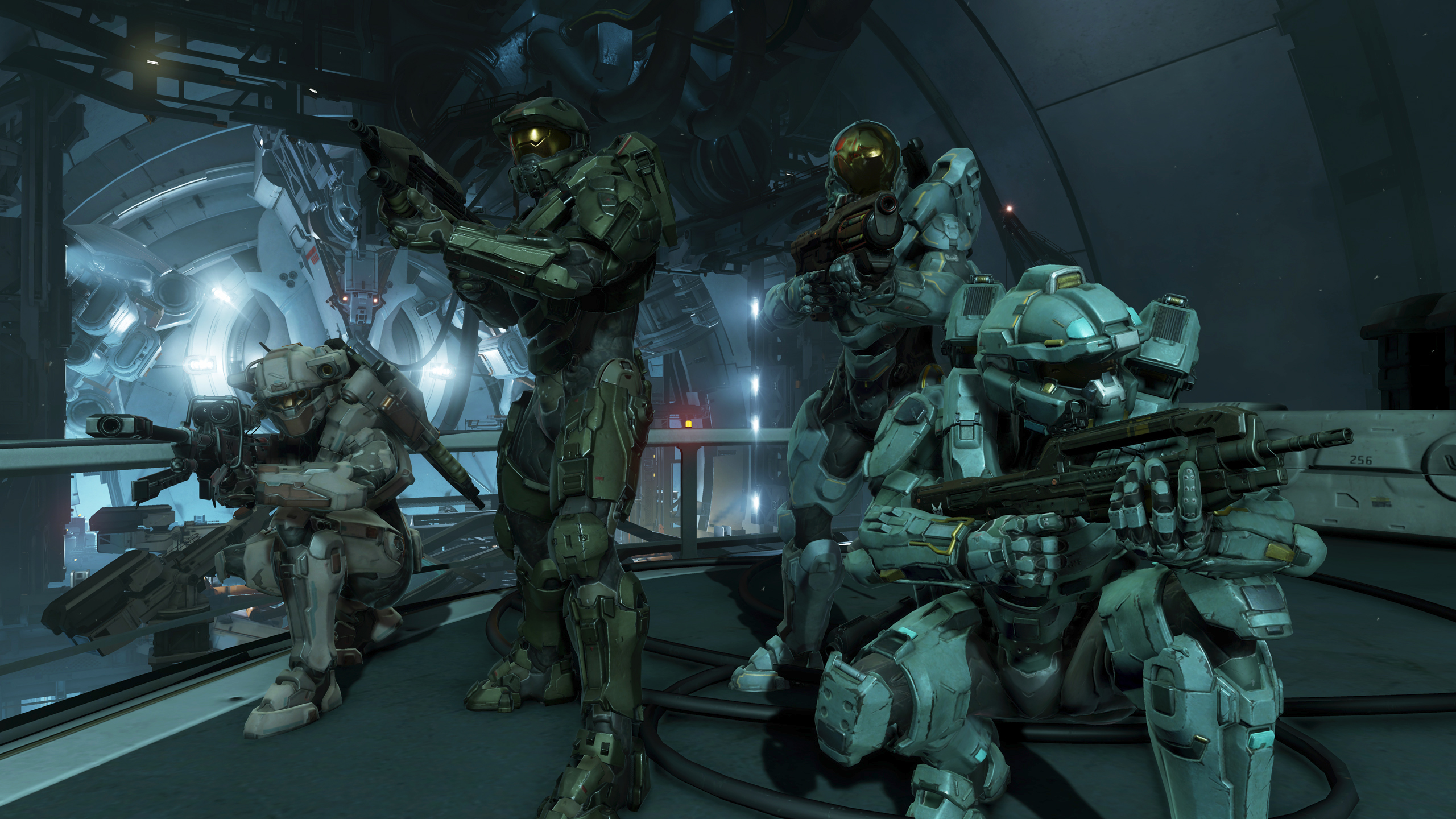 Hands On With Halo 5 Guardians Campaign Takes Us In Search Of