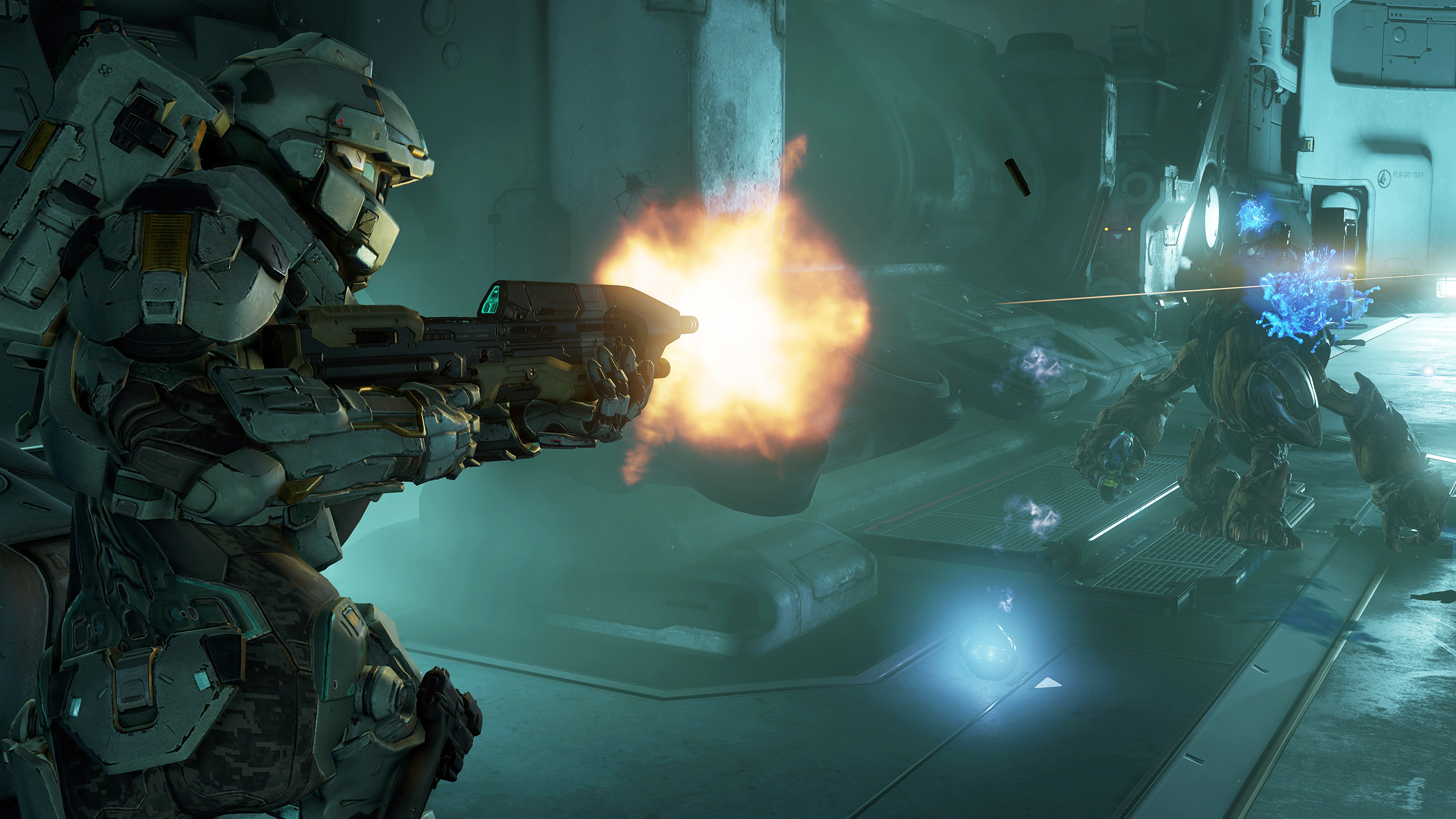 Hands On With Halo 5 Guardians Campaign Takes Us In Search Of Master Chief Venturebeat