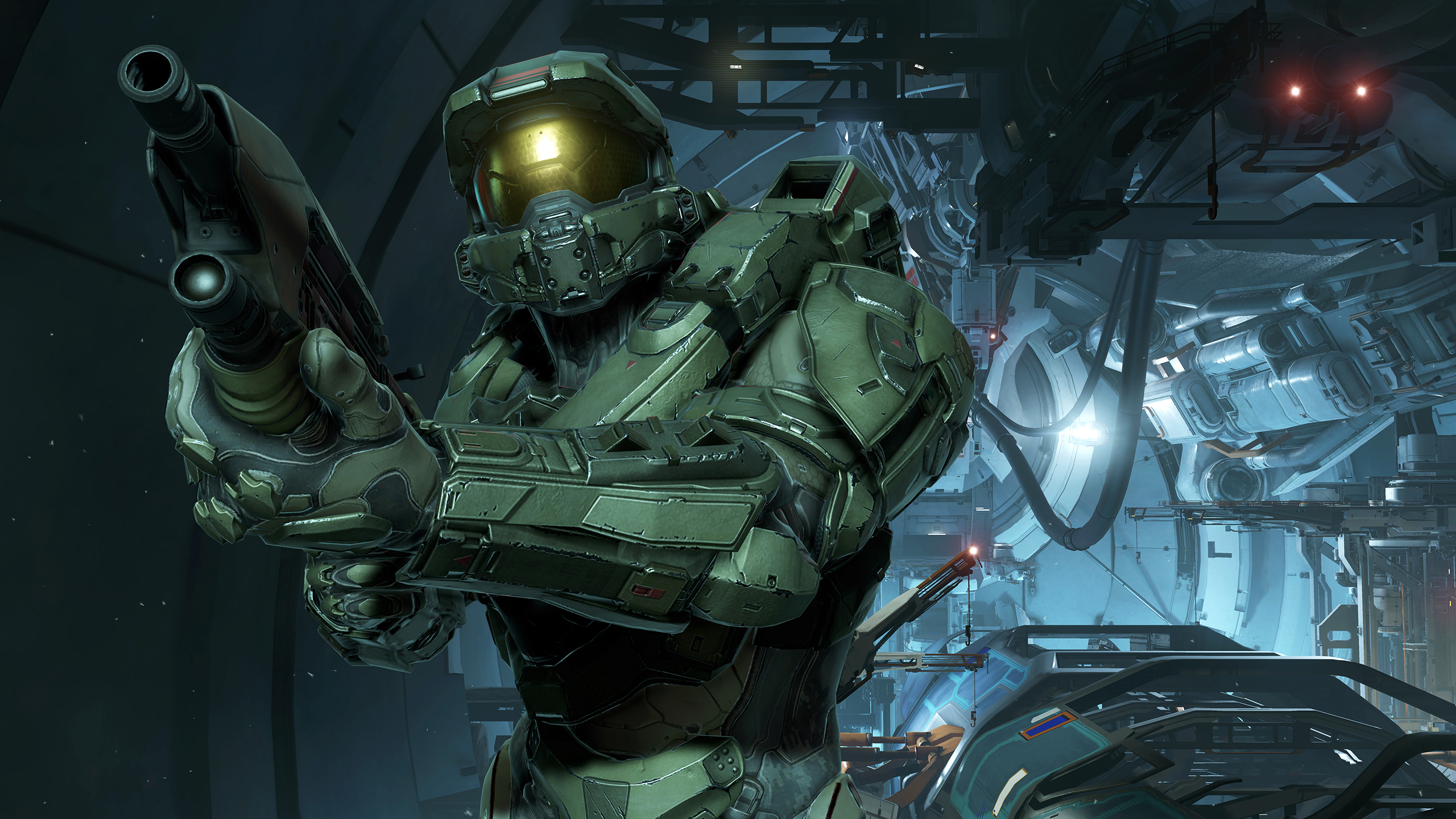 Updated Halo 5 Guardians Takes Master Chief And His Pursuer Down