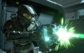 Master Chief (as shown in Halo 5) has been featured in a Halo VR experience, but won't be in an Xbox VR game any time soon.