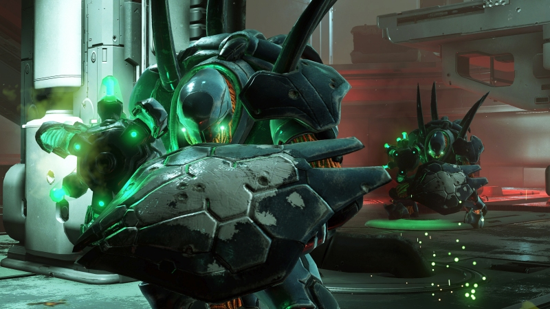 The Hunters appear again in Halo 5: Guardians.