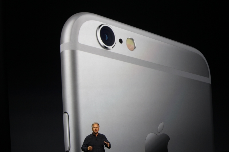 Apple's Phil Schiller talks about the new cameras.