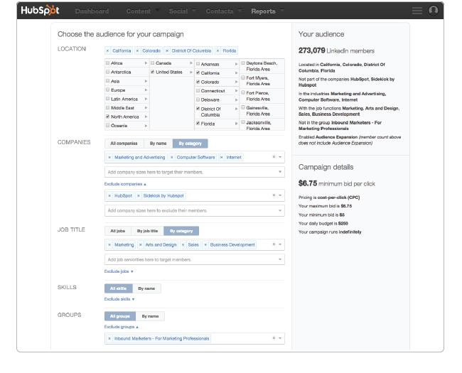 LinkedIn Create - Targeting (1)