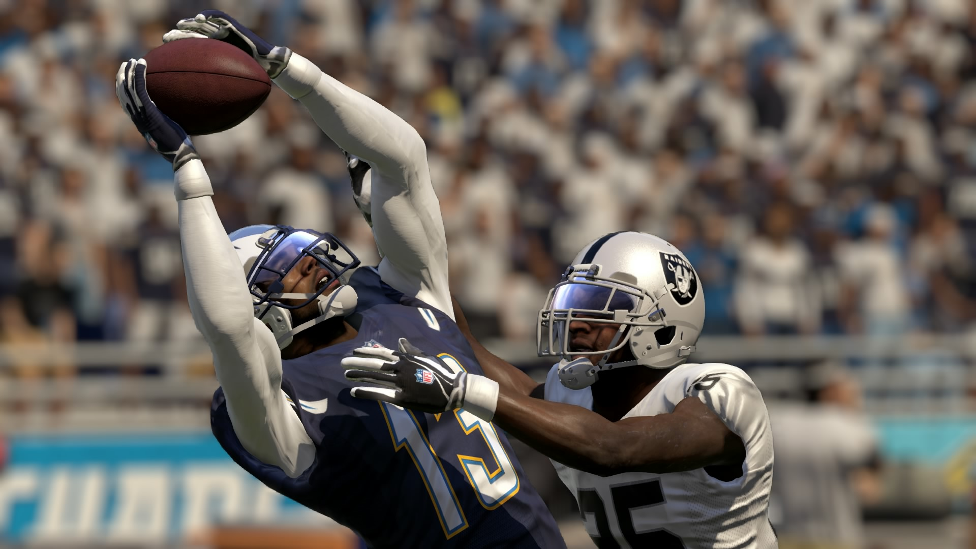Epic catches like this are easier to make in Madden this year (even if you're not playing the Oakland Raiders).