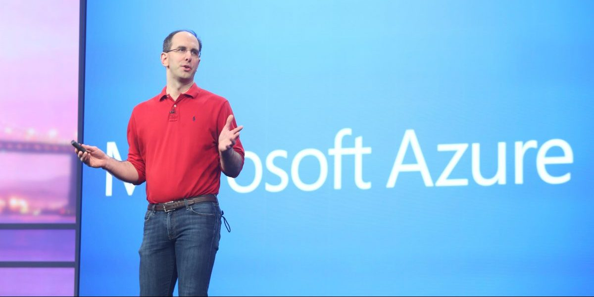 Microsoft Azure Scott Guthrie