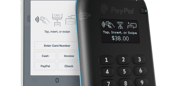PayPal Here launches a mobile card reader that accepts Android Pay and Apple Pay
