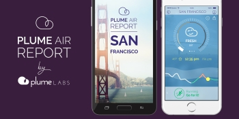 With air pollution app, Plume Labs wants to prove that big data and open government can save lives