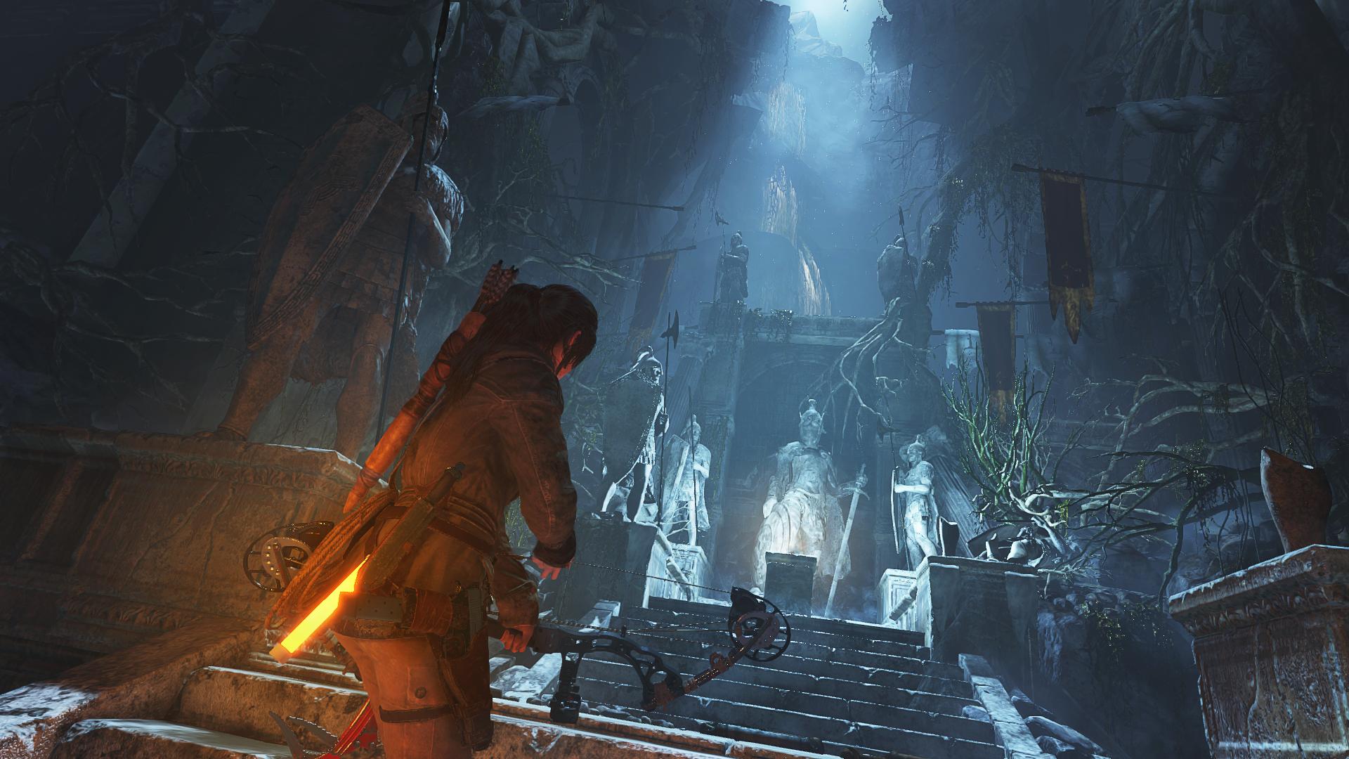 Lara Croft in Rise of the Tomb Raider