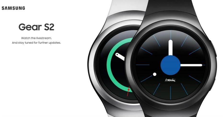 Samsung's Gear S2 smartwatch