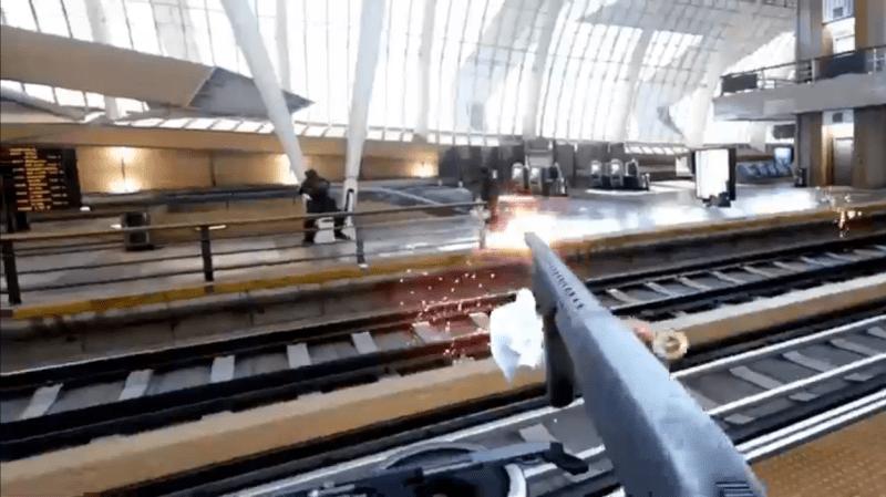 Bullet Train Oculus VR
