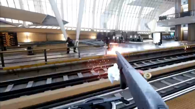 Bullet Train Oculus VR