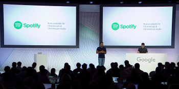 Spotify now works with Google's Chromecast and Chromecast Audio