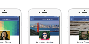 Facebook updates your mobile profiles with new layout and moving avatar