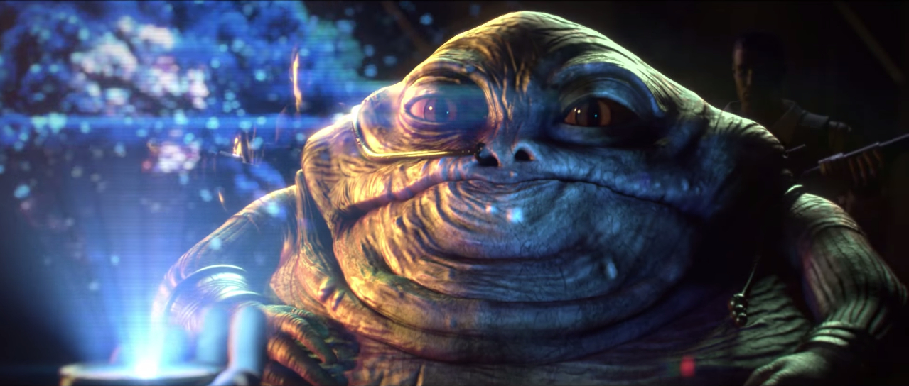 Boras the Hutt watches the second Death Star explode -- something the Empire denies in Star Wars: Uprising.