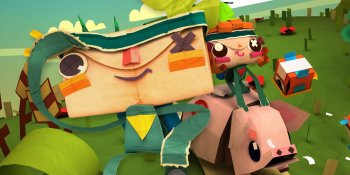 Tearaway Unfolded proves that bigger isn't always better
