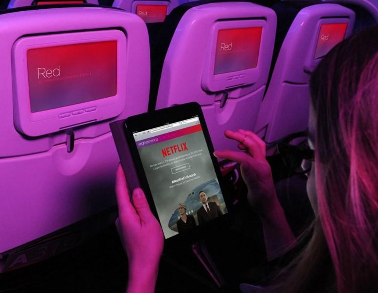 Netflix on Virgin