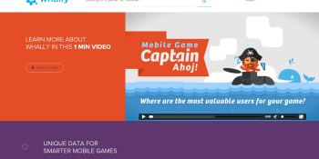 Whally launches new mobile analytics platform that tracks player scores as a sign of engagement