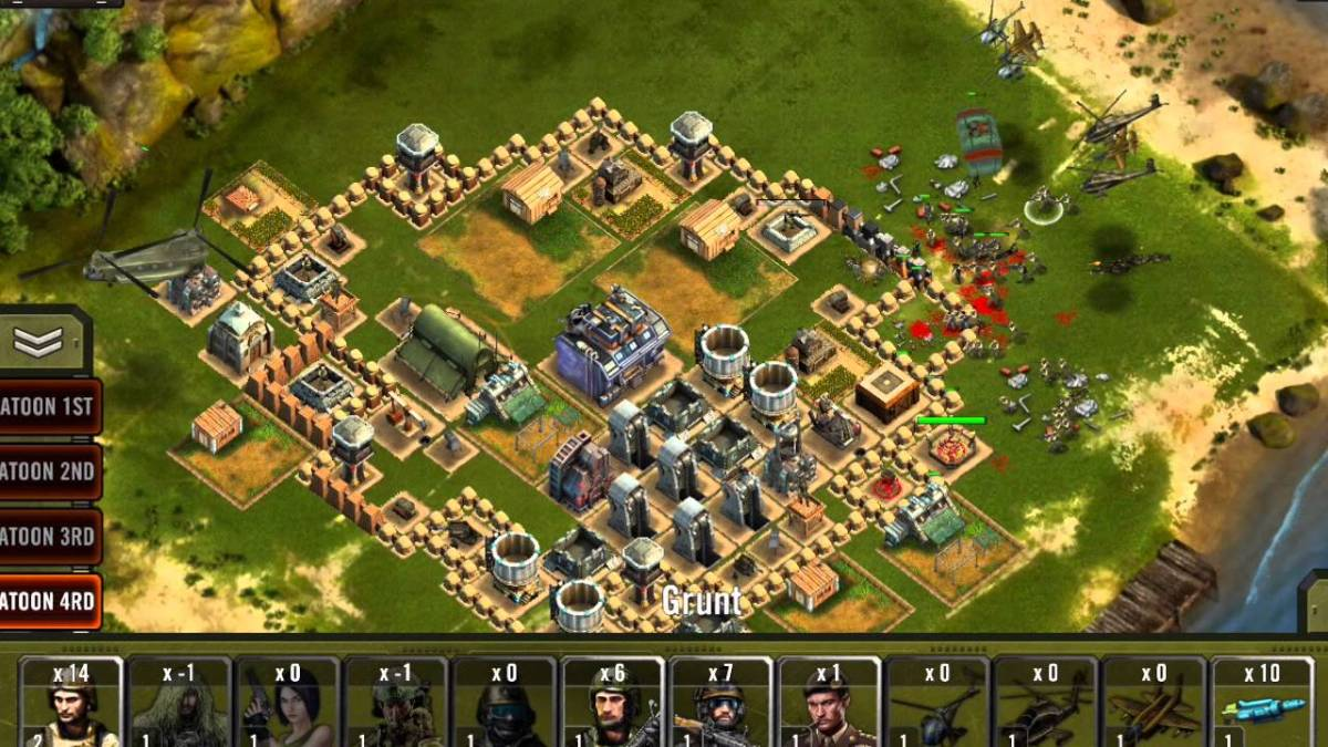 Zombie Company Crusade grew out of David's desire to bring the games that kept him entertained on PC to mobile devices.