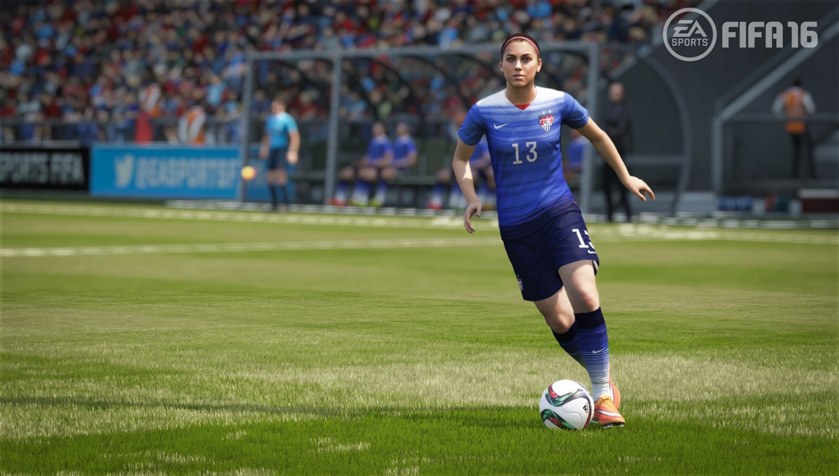FIFA 16 features some of the top women's team in the world.