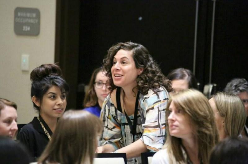 Girls in Tech's Catalyst Conference in Phoenix, Ariz., earlier in 2015.