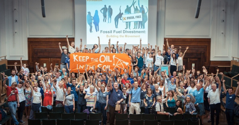 The divestment movement has grown 50-fold in the last year.