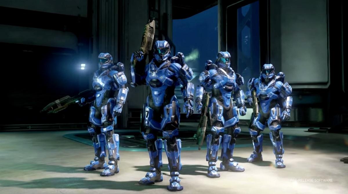 Halo 5: Guardians Arena combatants.
